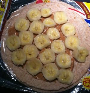 PB Banana Bfast Wrap