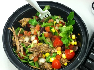 barbacoa beef salad 2