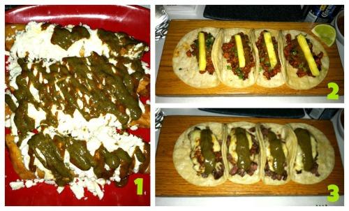 Bien Trucha Tacos - Chicken, Pastor & Beef 2