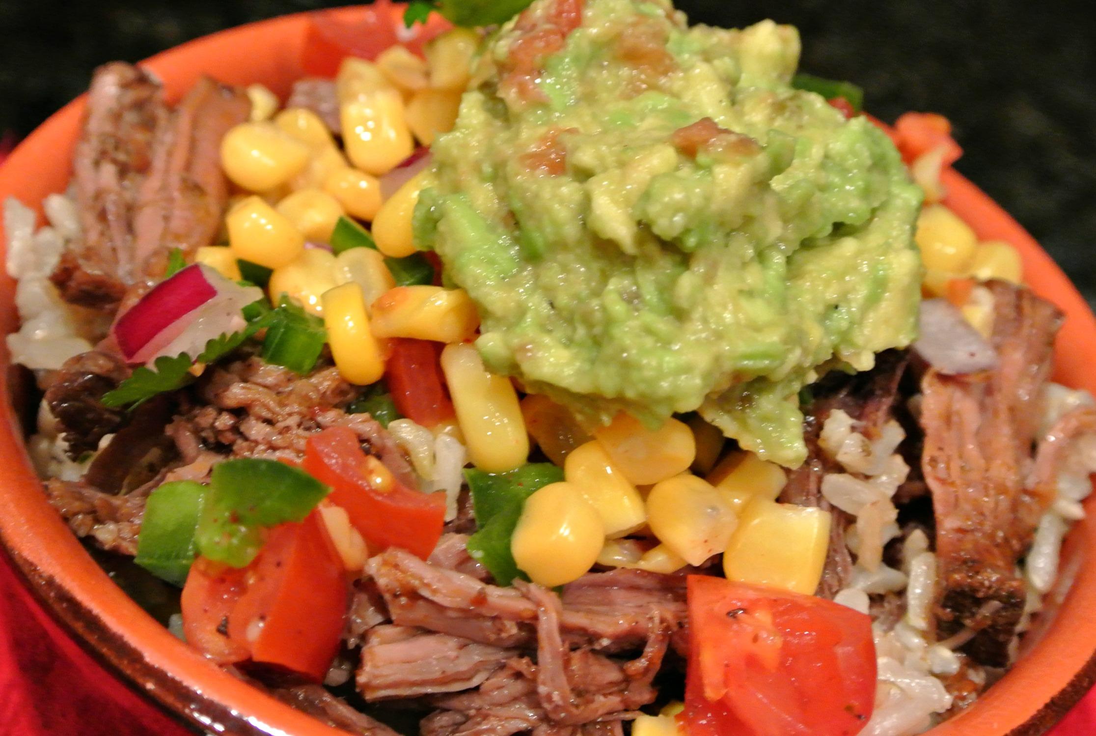 Chipotle Burrito Bowls