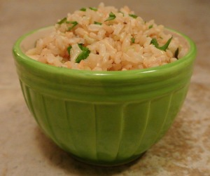 Cilantro Lime Brown Rice 3