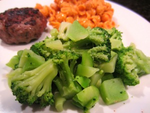 dads dinner broccoli