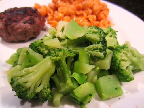 dads dinner broccoli
