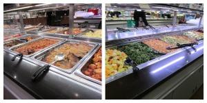 Salad and Hot Foods Bar