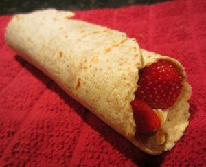 strawberry sushi roll