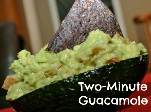 two minute guacamole 5
