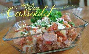 c smoked sausage cassoulet