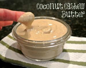 coconut cashew butter 3