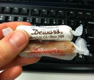 dewars candy