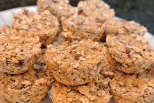 granola bite plate