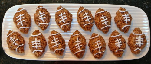 superbowl rice krispy treats 3