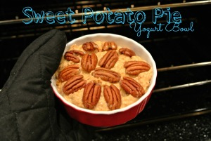 Sweet Potato Pie Yogurt Bowl