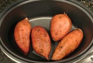 sweet potatoes raw crockpot
