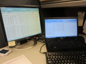 am work