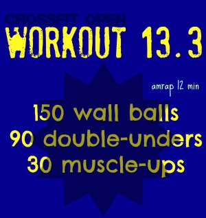 crossfit 13.3 workout