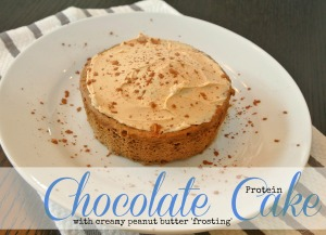 chocolate peanut butter protein cake12