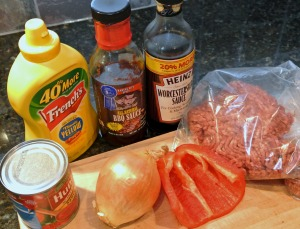 sloppy joe ingredients