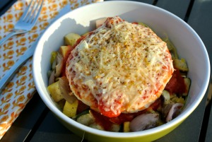 turkey burger spaghetti squash 2