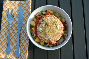 turkey burger spaghetti squash