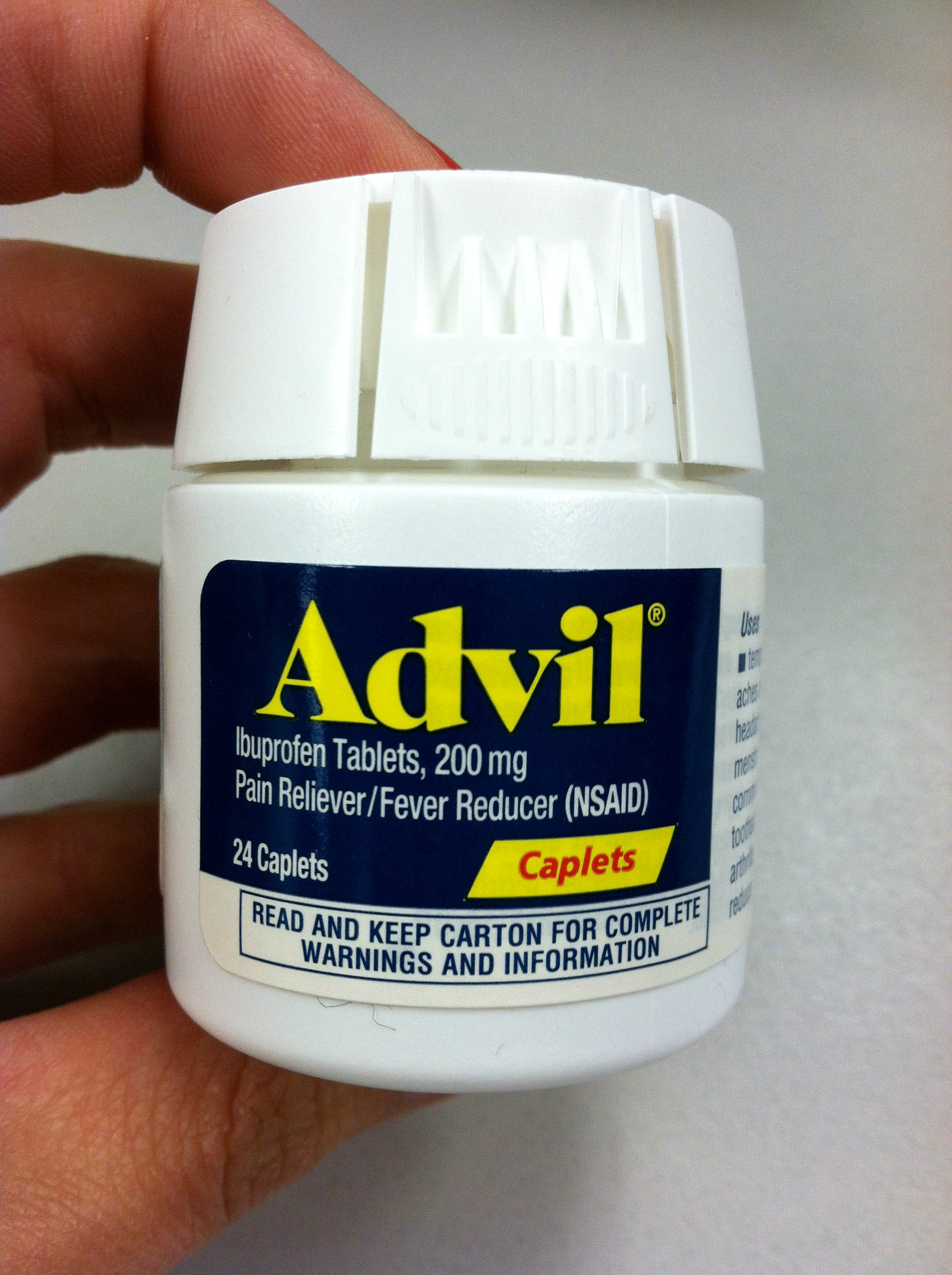 Is it ok to take advil with clomid