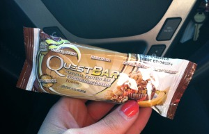 banana nut quest bar