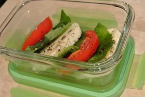 caprese salad snack