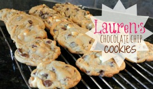 lauren's chocolate chip cookies
