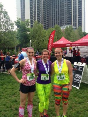 me cassie amanda 2013 half marathon