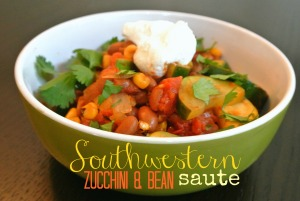 southwestern zucchini and bean saute 7b
