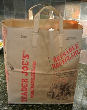 tj's grocery bag