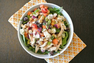Tj's mix mediterranean chicken salad
