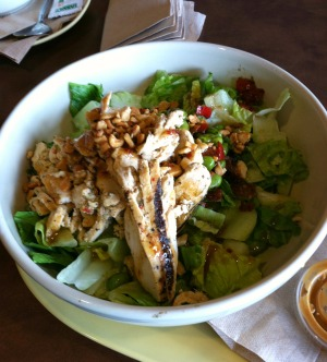 panera thai chicken salad