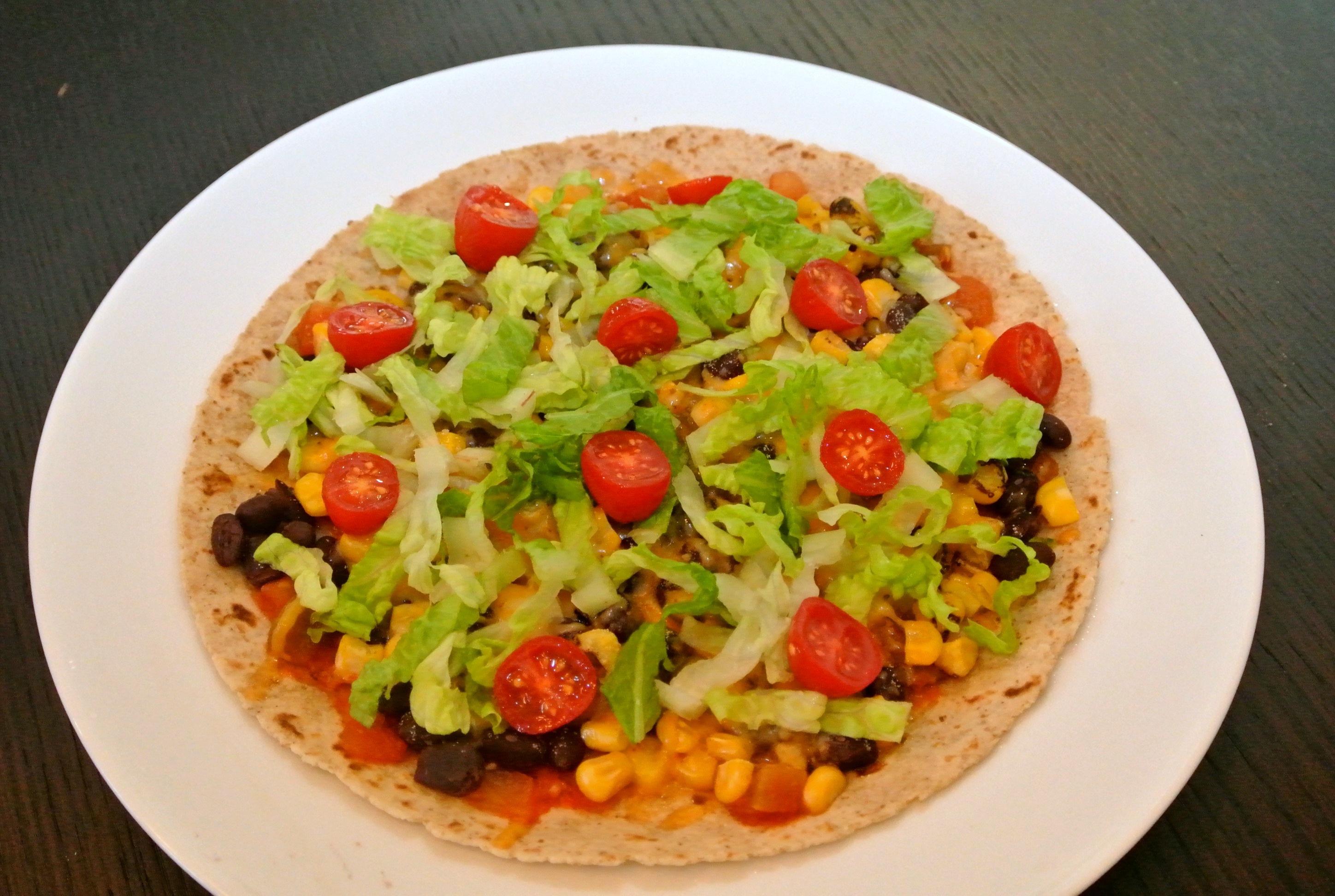 Mexican Food Tostada Mexican food out there,